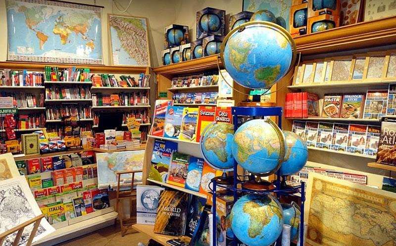 Librería Viajera en Florencia