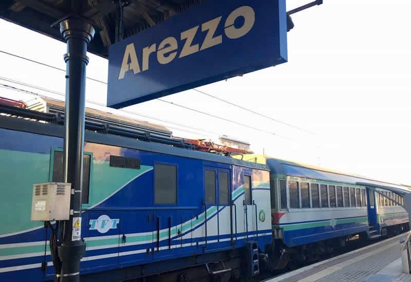 Como llegar a Arezzo desde Florencia
